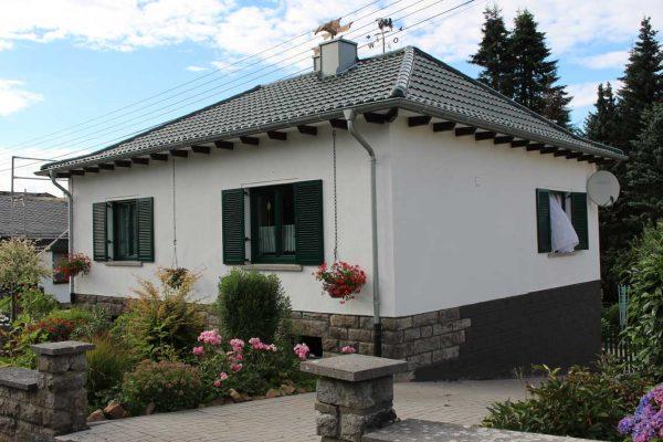 Fassadenverkleidung  Asbestsanierung  Kaminbau